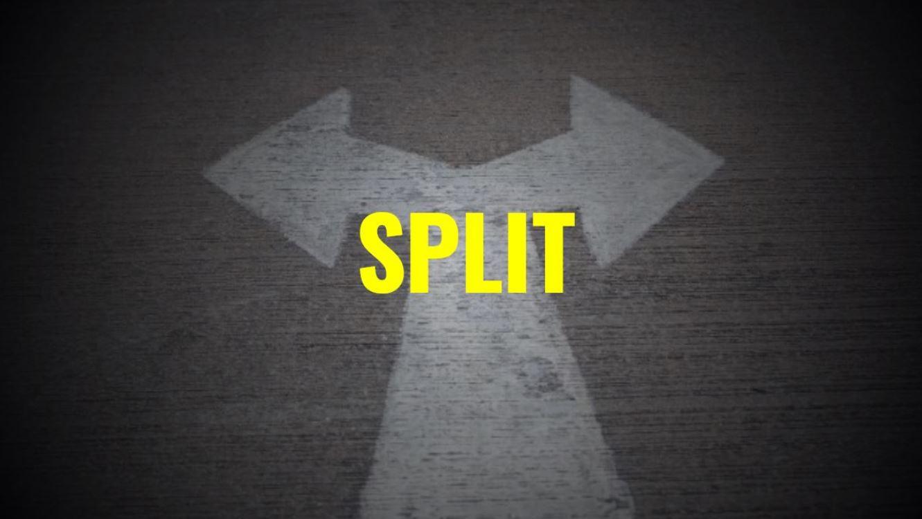 Paare teilen beim Blackjack: Split