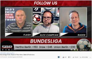 Radek Vegas als Bundesliga-Experte bei SBR Nation